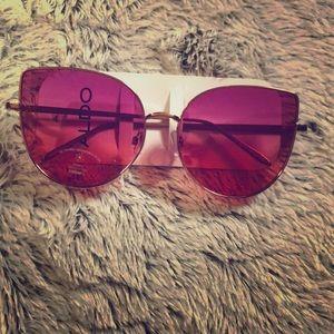 Pink Aldo cat eye sunglasses